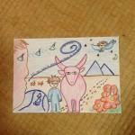 松村潔先生の十牛図の講座に行ってきました!
