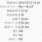 7キロってかなり距離あるよ。